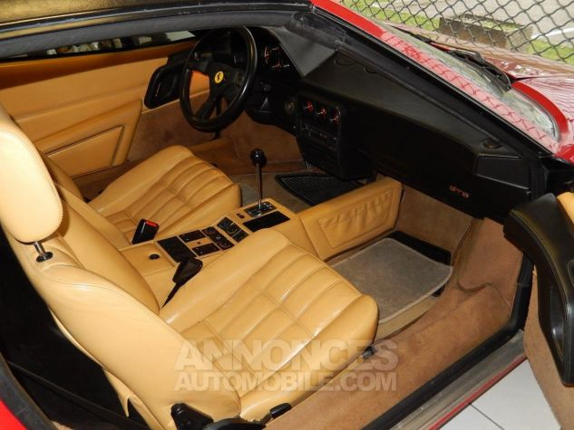 Ferrari 328 GTS - Origine POZZI - Parfait état - Courroie OK Rouge Occasion - 15