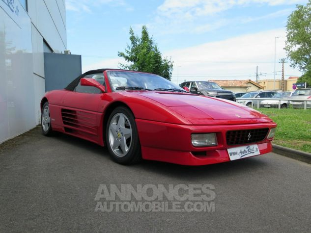 Ferrari 348 Spider Rouge Occasion - 2