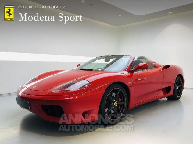 Ferrari 360 Modena Spider F1 Rouge Rosso Corsa Occasion - 0