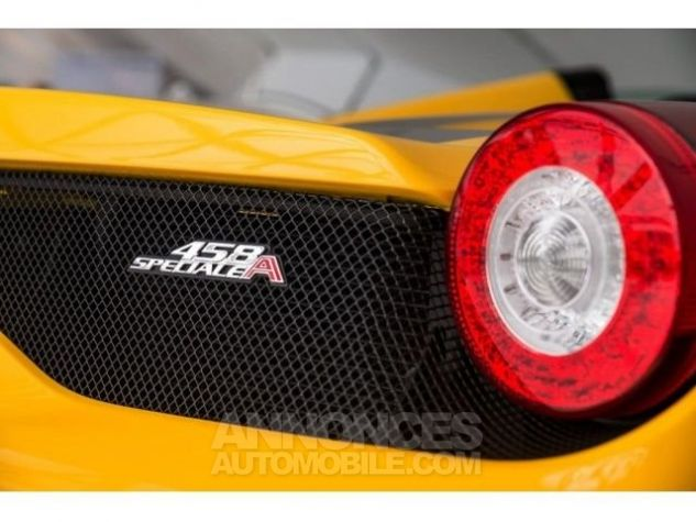 Ferrari 458 SA Special Aperta jaune Occasion - 11