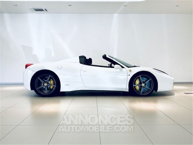 Ferrari 458 Italia SPIDER Blanc Occasion - 3