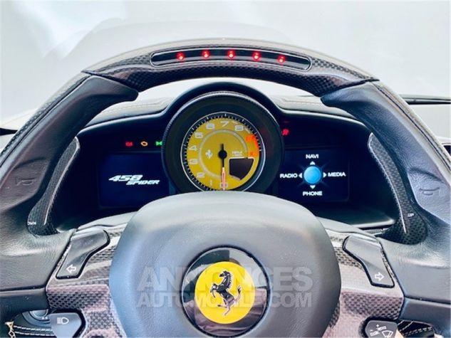 Ferrari 458 Italia SPIDER Blanc Occasion - 7