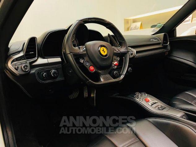 Ferrari 458 Italia V8 4.5 Spider Blanc Bianco Avus Occasion - 1
