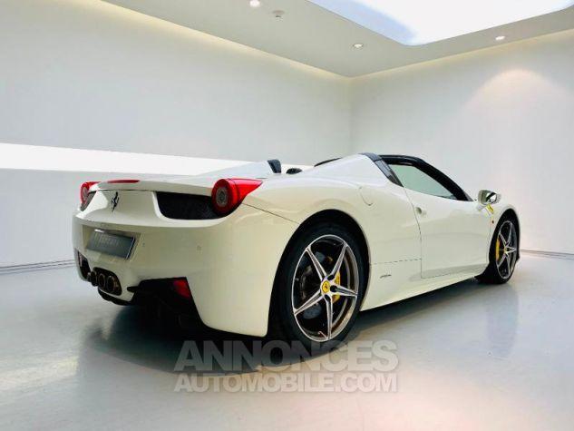 Ferrari 458 Italia V8 4.5 Spider Blanc Bianco Avus Occasion - 2
