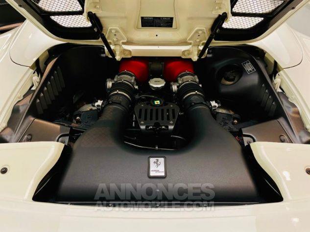 Ferrari 458 Italia V8 4.5 Spider Blanc Bianco Avus Occasion - 4