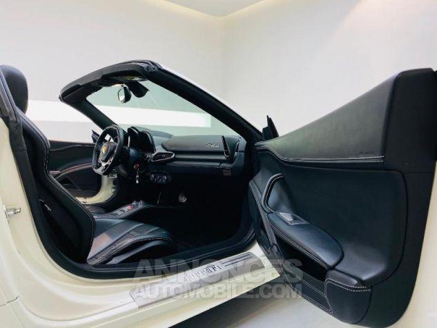 Ferrari 458 Italia V8 4.5 Spider Blanc Bianco Avus Occasion - 11