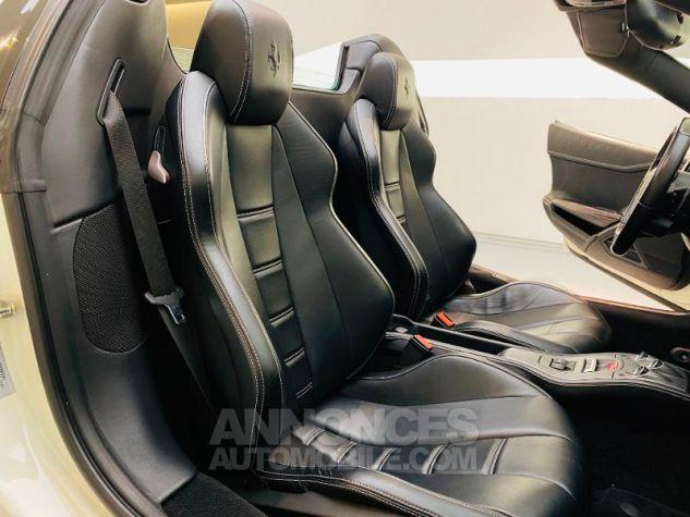 Ferrari 458 Italia V8 4.5 Spider Blanc Bianco Avus Occasion - 12
