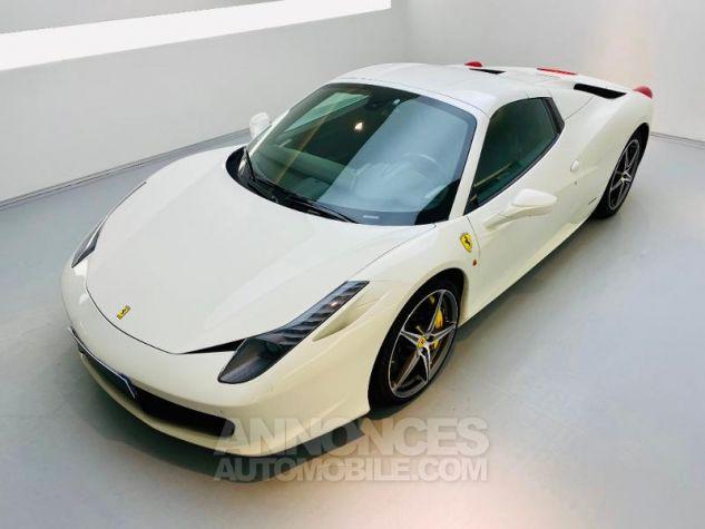 Ferrari 458 Italia V8 4.5 Spider Blanc Bianco Avus Occasion - 15