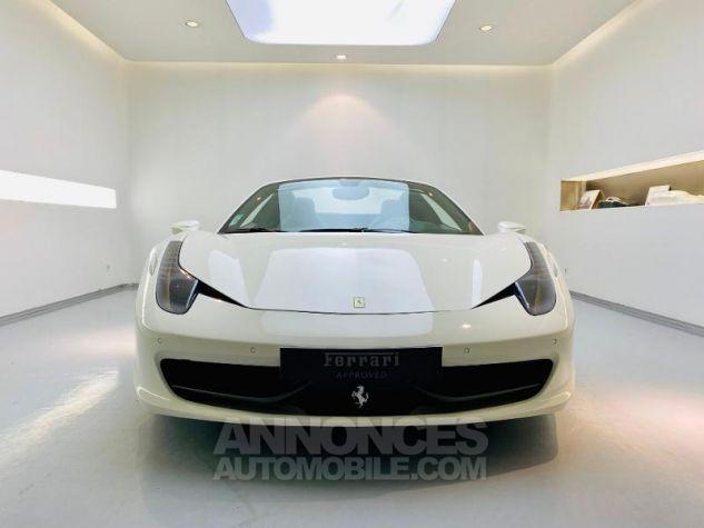 Ferrari 458 Italia V8 4.5 Spider Blanc Bianco Avus Occasion - 17