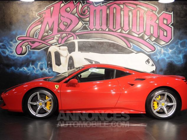 Ferrari 488 GTB DCT ROUGE METAL Occasion - 3