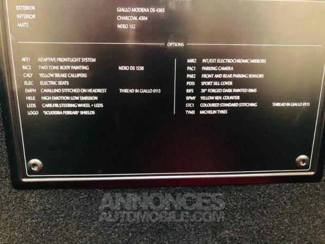 Ferrari 488 GTB V8 3.9 T 670ch Jaune Occasion - 16