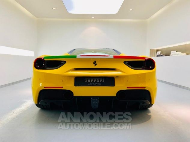 Ferrari 488 GTB V8 3.9 T 670ch Jaune Giallo Occasion - 6