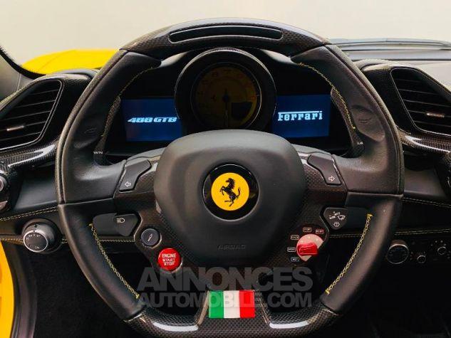 Ferrari 488 GTB V8 3.9 T 670ch Jaune Giallo Occasion - 14