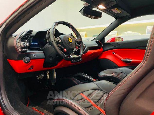 Ferrari 488 GTB V8 3.9 T 670ch Rouge Rosso Maranello Occasion - 1