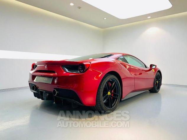 Ferrari 488 GTB V8 3.9 T 670ch Rouge Rosso Maranello Occasion - 2