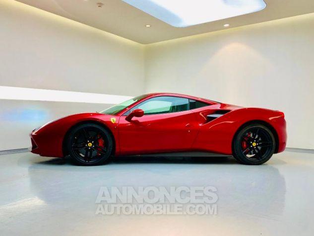 Ferrari 488 GTB V8 3.9 T 670ch Rouge Rosso Maranello Occasion - 3
