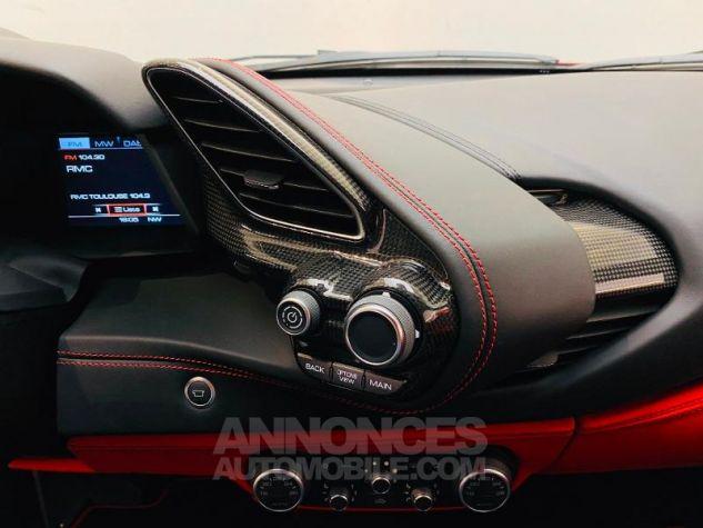 Ferrari 488 GTB V8 3.9 T 670ch Rouge Rosso Maranello Occasion - 8