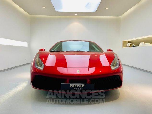 Ferrari 488 GTB V8 3.9 T 670ch Rouge Rosso Maranello Occasion - 17