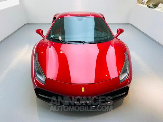Ferrari 488 GTB V8 3.9 T 670ch Rouge Rosso Maranello Occasion - 18