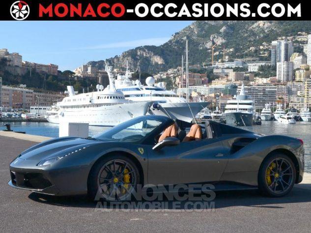 Ferrari 488 Spider V8 3.9 T 670ch Gris / Griogio Silverstone Occasion - 0