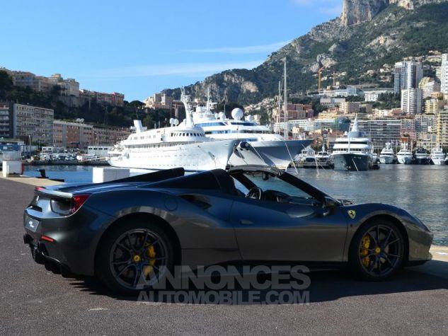 Ferrari 488 Spider V8 3.9 T 670ch Gris / Griogio Silverstone Occasion - 10