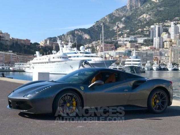 Ferrari 488 Spider V8 3.9 T 670ch Gris / Griogio Silverstone Occasion - 11