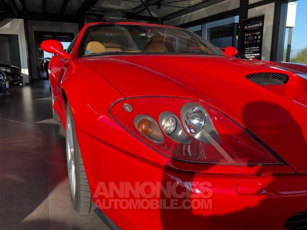 Ferrari 575M Maranello 575 F1 ROUGE Occasion - 4