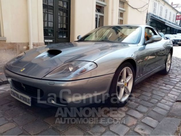 Ferrari 575M Maranello 575M MARANELLO F1 Gris Metal Occasion - 9