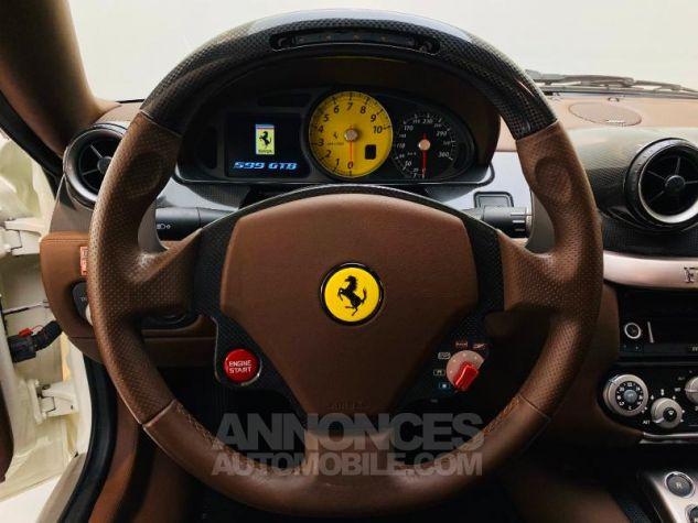 Ferrari 599 GTB Fiorano V12 6.0 F1 Blanche Occasion - 11