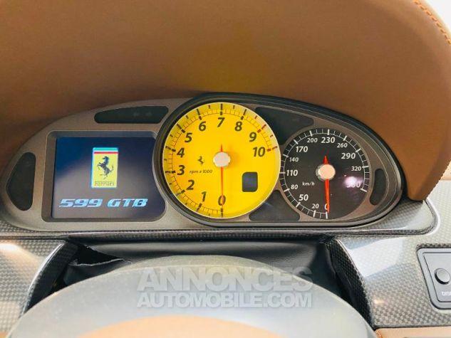 Ferrari 599 GTB Fiorano V12 6.0 F1 Blanche Occasion - 12