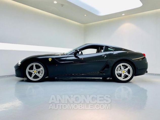 Ferrari 599 GTB Fiorano V12 6.0 F1 HGTE Noir Métal Néro Daytona Occasion - 3