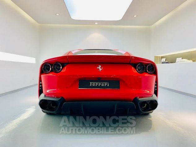 Ferrari 812 Superfast V12 6.5 800ch Rouge Rosso Corsa Occasion - 6