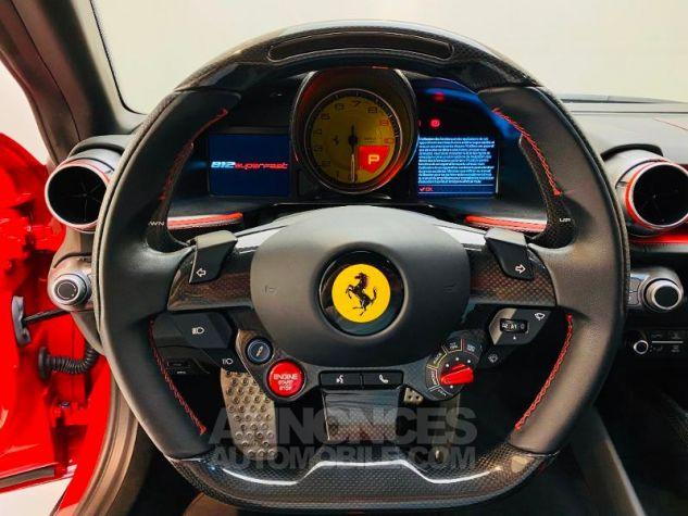 Ferrari 812 Superfast V12 6.5 800ch Rouge Rosso Corsa Occasion - 10