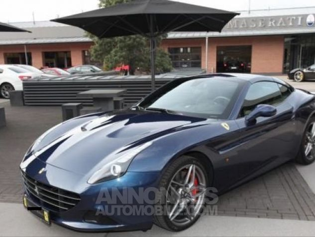 Ferrari California T HANDLING SPECIALE Apple CarPlay  Blu Swaters métal Occasion - 9