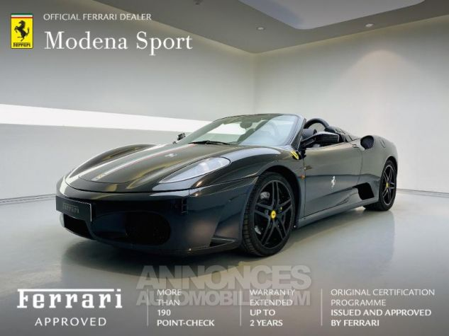 Ferrari F430 Spider V8 4.3 F1 60iéme Anniversaire Noir Occasion - 0