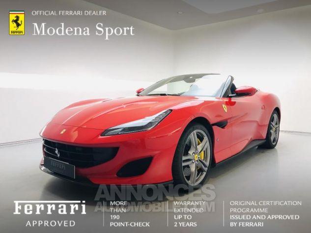 Ferrari Portofino V8 3.9 T 600ch Rouge Rosso Corsa Occasion - 0
