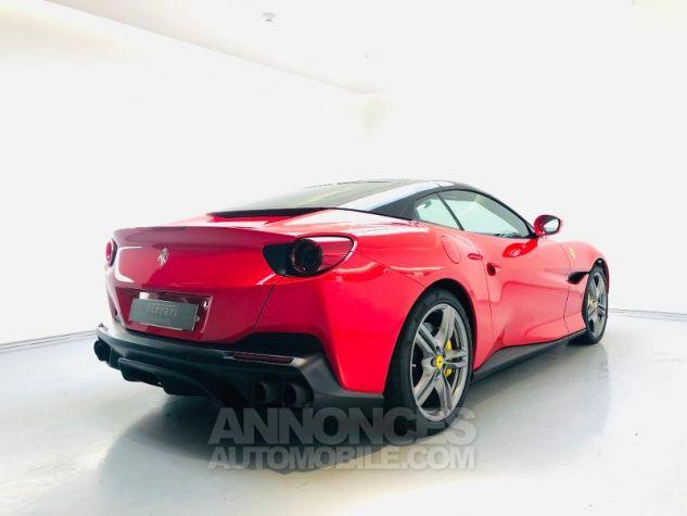 Ferrari Portofino V8 3.9 T 600ch Rouge Rosso Corsa Occasion - 4