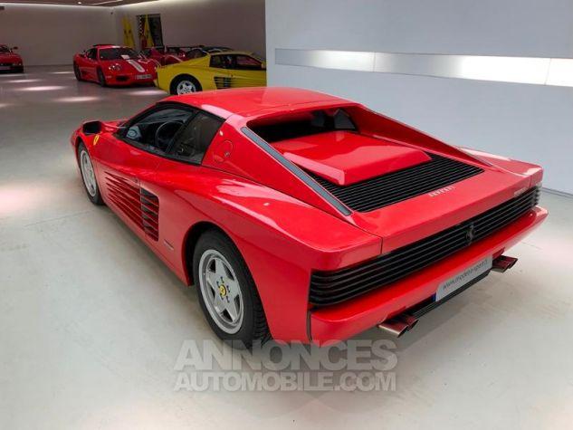 Ferrari Testarossa 5.0 V12 380 Rouge Rosso Corsa Occasion - 5