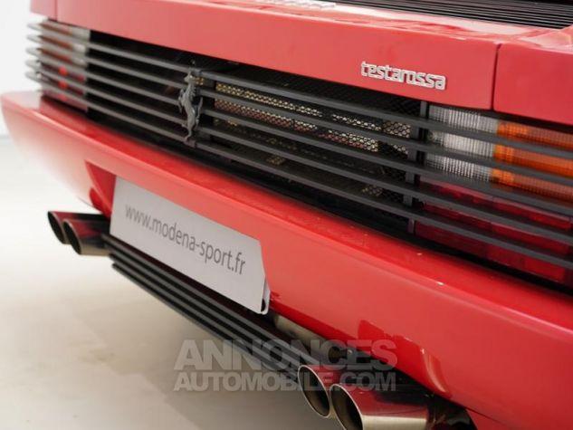 Ferrari Testarossa 5.0 V12 380 Rouge Rosso Corsa Occasion - 8