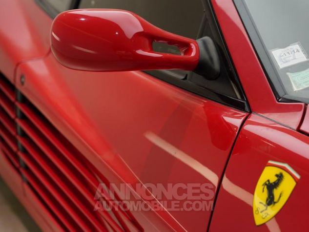 Ferrari Testarossa 5.0 V12 380 Rouge Rosso Corsa Occasion - 10