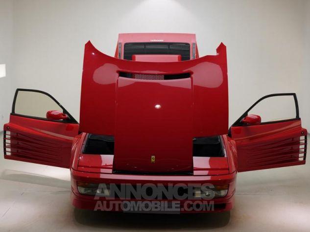 Ferrari Testarossa 5.0 V12 380 Rouge Rosso Corsa Occasion - 12