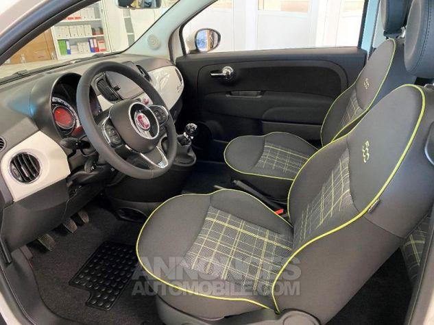 Fiat 500 1.2 8v 69ch Eco Pack Lounge 109g Bossa Nova White Occasion - 2