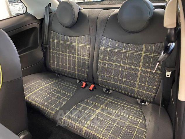 Fiat 500 1.2 8v 69ch Eco Pack Lounge 109g Bossa Nova White Occasion - 3