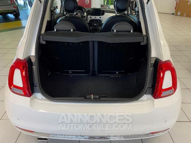 Fiat 500 1.2 8v 69ch Eco Pack Lounge 109g Bossa Nova White Occasion - 4