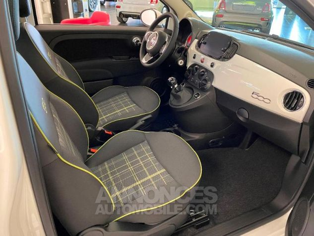 Fiat 500 1.2 8v 69ch Eco Pack Lounge 109g Bossa Nova White Occasion - 5