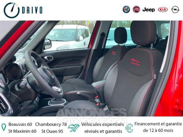 Fiat 500L CROSS SERIE 8 SPORT 1.4 95ch S&S Rouge Passione Neuf - 10