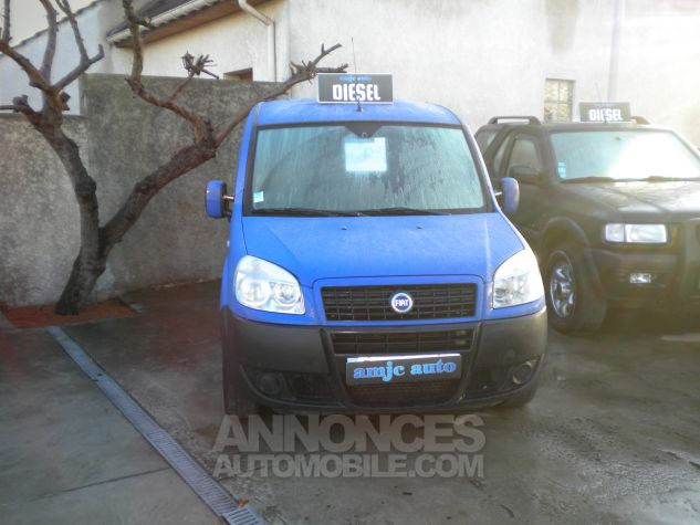 Fiat DOBLO CARGO 1L3 MJT Bleu  Occasion - 0