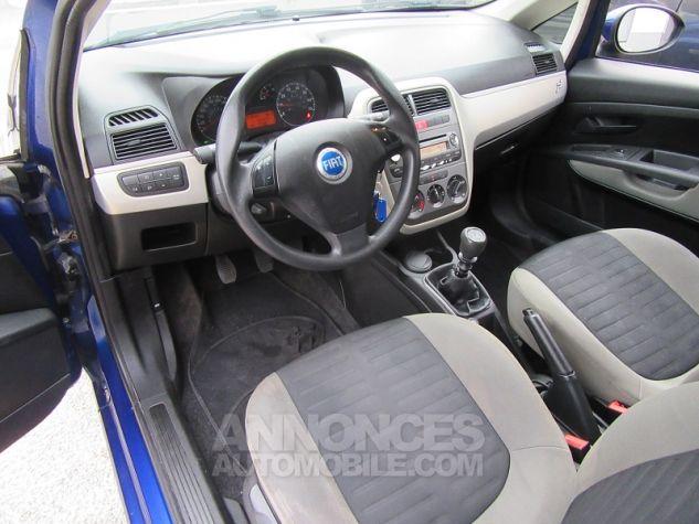 Fiat GRANDE PUNTO 1.4 8V 77CH COLLEZIONE 3P Bleu Occasion - 1
