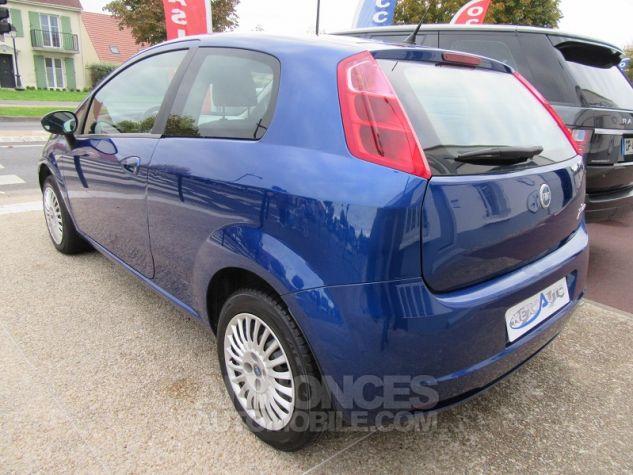 Fiat GRANDE PUNTO 1.4 8V 77CH COLLEZIONE 3P Bleu Occasion - 2