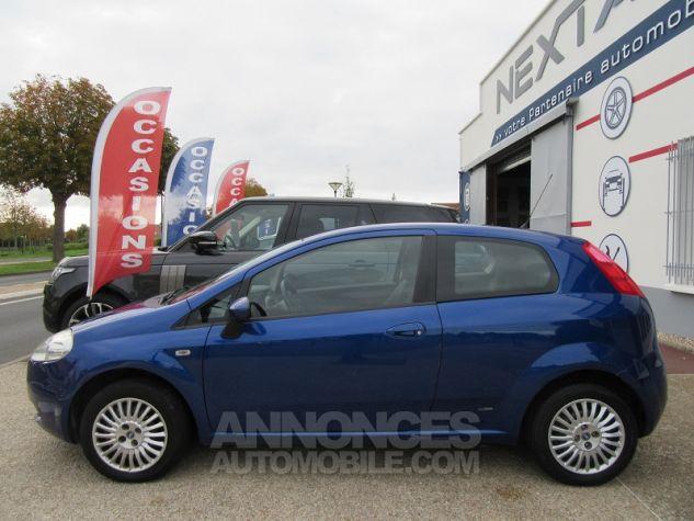 Fiat GRANDE PUNTO 1.4 8V 77CH COLLEZIONE 3P Bleu Occasion - 4